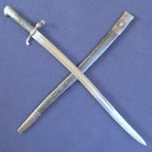 British 1858 Pattern 2-Band Enfield Short Rifle Bayonet 1