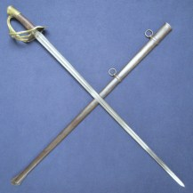 French AN XI 1816 Cuirassier Troopers Sword with Model 1854 Hilt 1