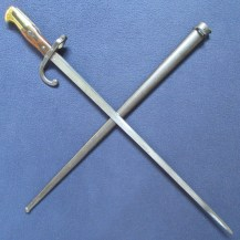 French M1874 Gras Bayonet by Chatellerault 1