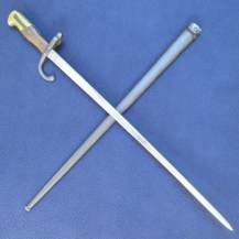 French M1874 Gras Bayonet dated 1876 1